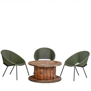 Compleet zitje relax 3 stoelen