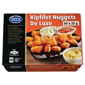 Kipnuggets halal 60 stuks (25 gram p.st.)