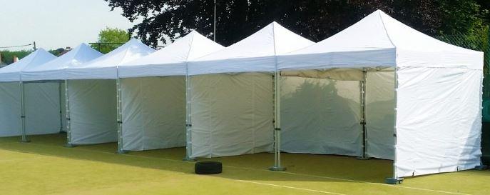 Een 2x2 easy up tent huren Partytent verhuur Amsterdam