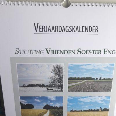 Verjaardagskalender Soester Eng toont seizoenen