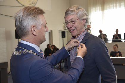 Ridderorde voor voorzitter Kees Waagmeester