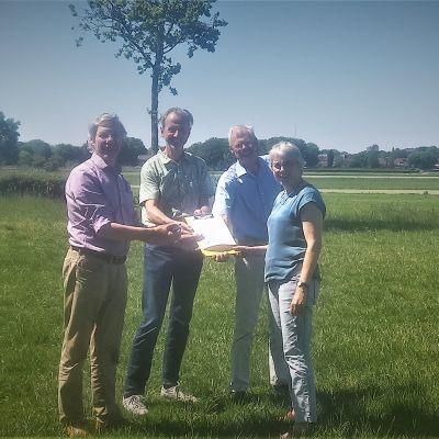Vrienden Soester Eng nu partner van Geopark