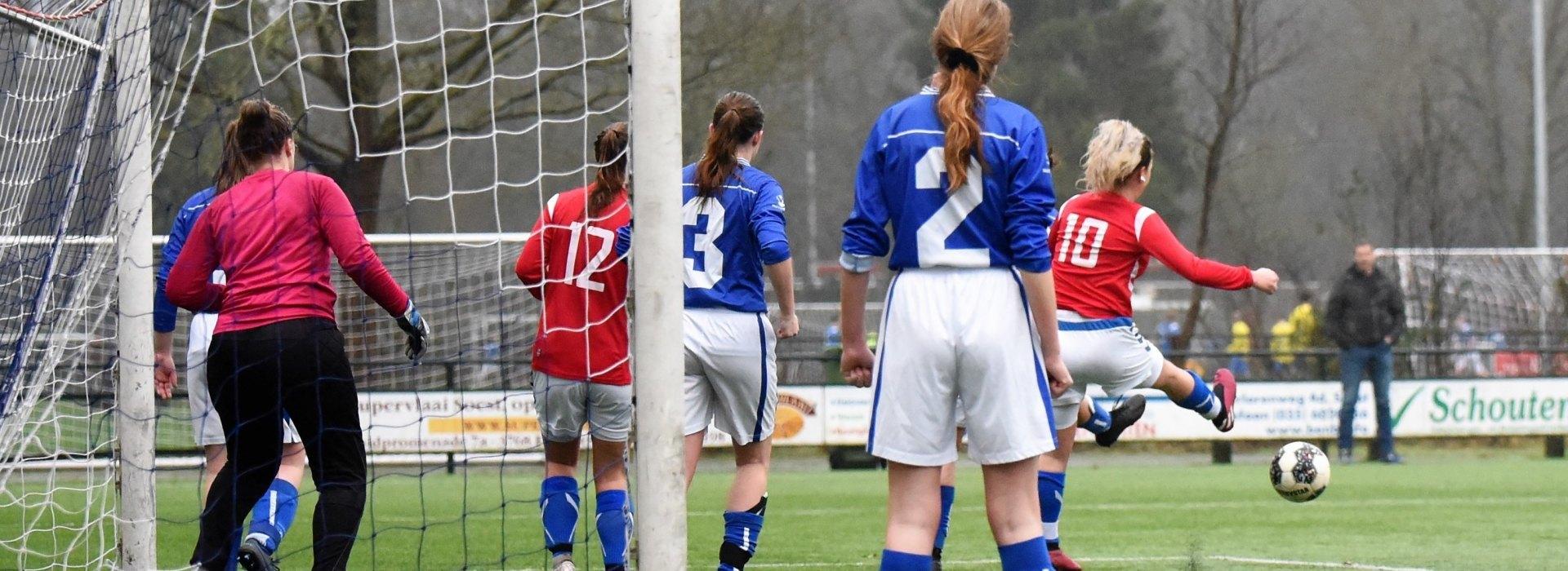 Vrouwen spelen gelijk tegen DSC (0-0)