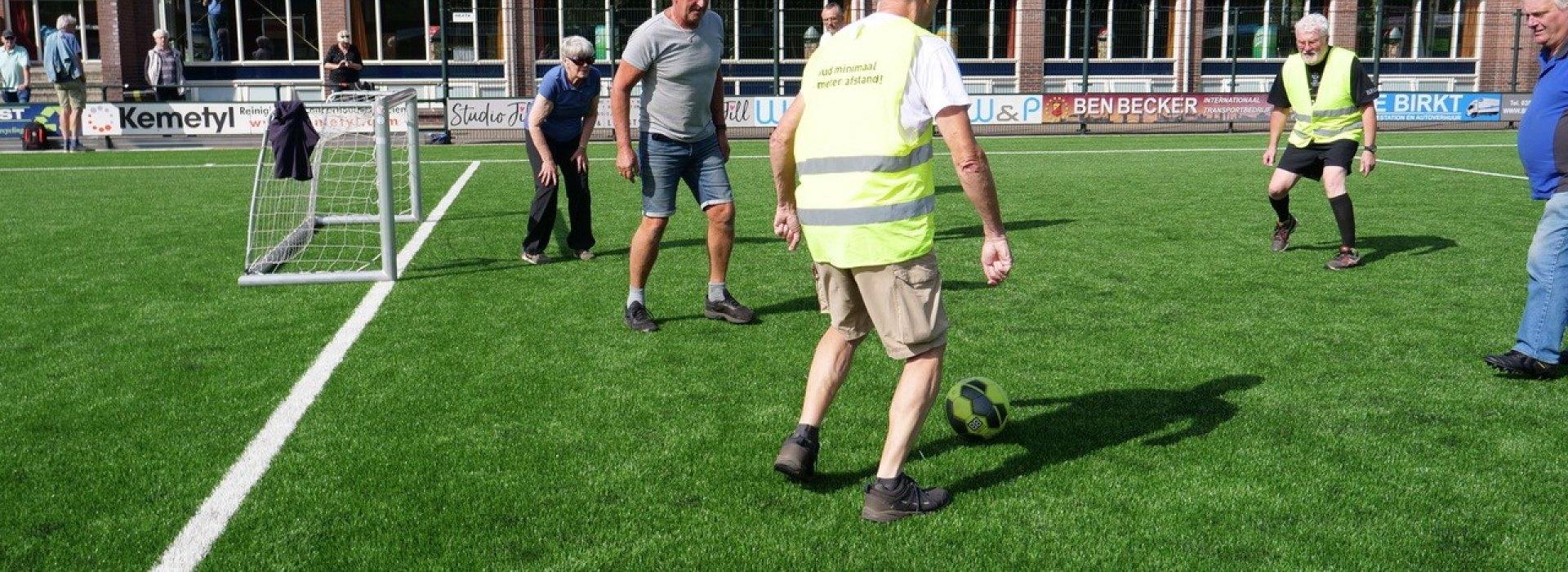 Wandelvoetbal gestart