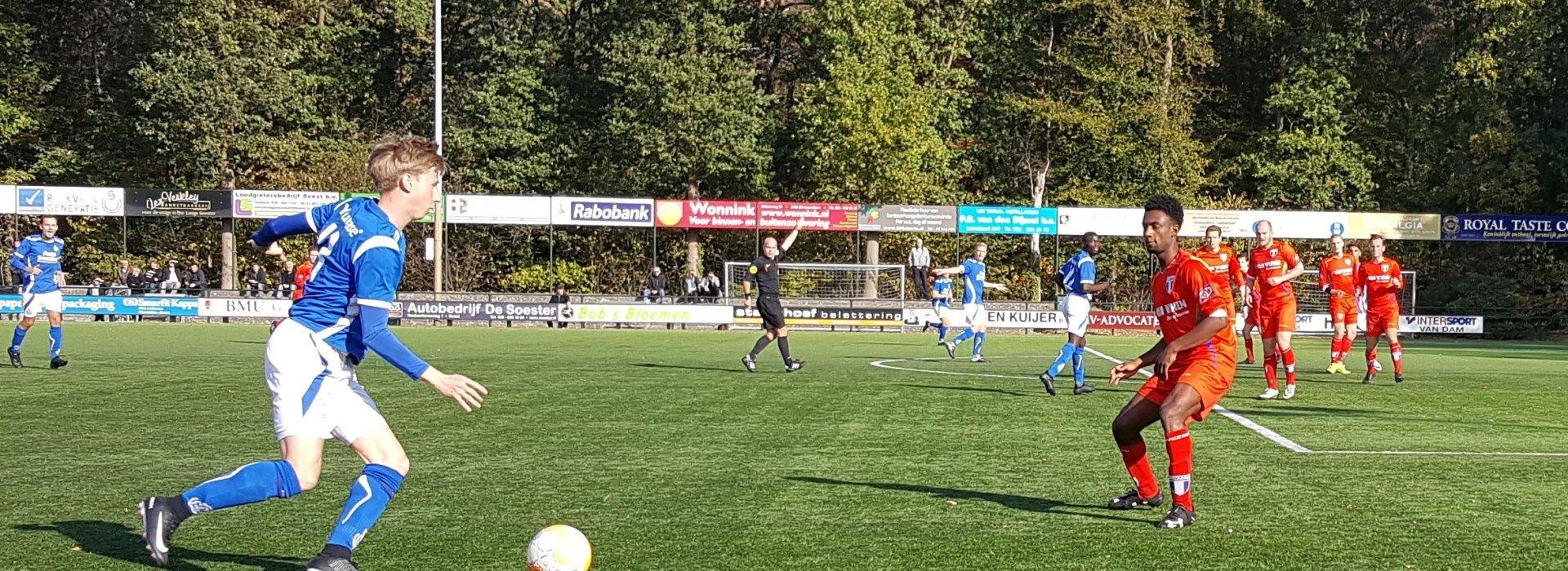 Overtuiging tegen FC Weesp