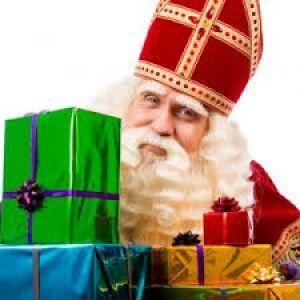 Een bezoek van Sinterklaas