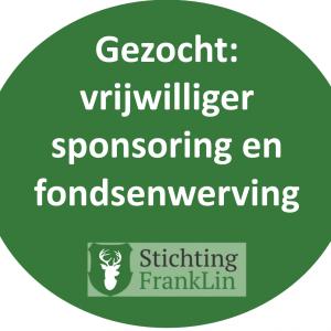 Gezocht: vrijwilliger sponsoring en fondsenwerving