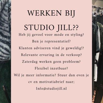 Wij zijn op zoek naar nieuwe collega's Ben jij wie we zoeken? Mail dan even je cv en motivatie naar info@studiojill.nl #vacature #studiojill #col...