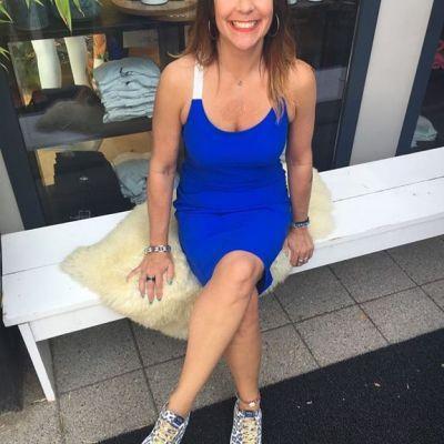 PERFECT DRESS HELENA HART #summervibes #dress #red #blue #transfer #studiojill