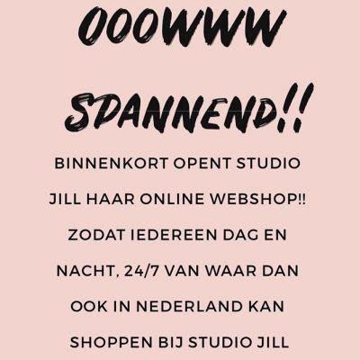 Het is bijna zover!!  Onze online webshop gaat bijna online  #studiojill #online #soononline #webshop #mode #shopping #24/7