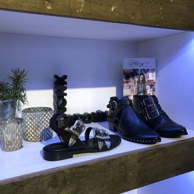 STUDS BRONX #sandalen #boots #shoes #studiojill #loveit #tough #black