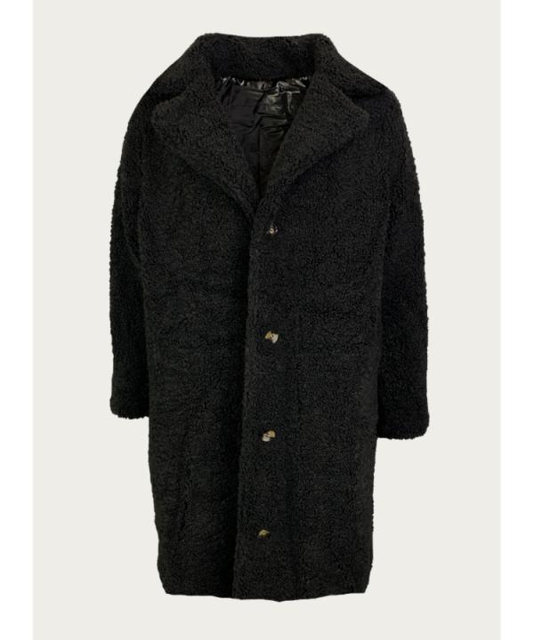 Teddy coat reversible