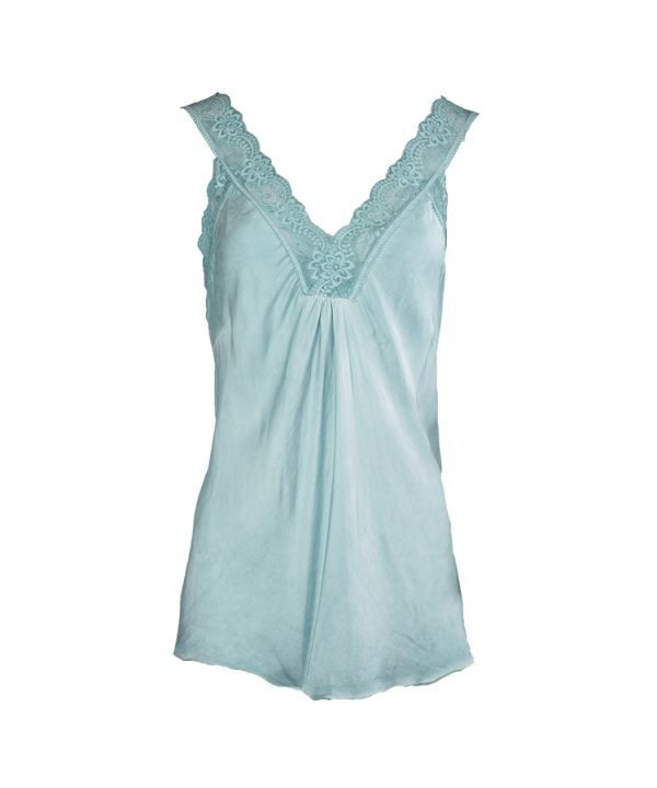 Singlet Marion lace blauw