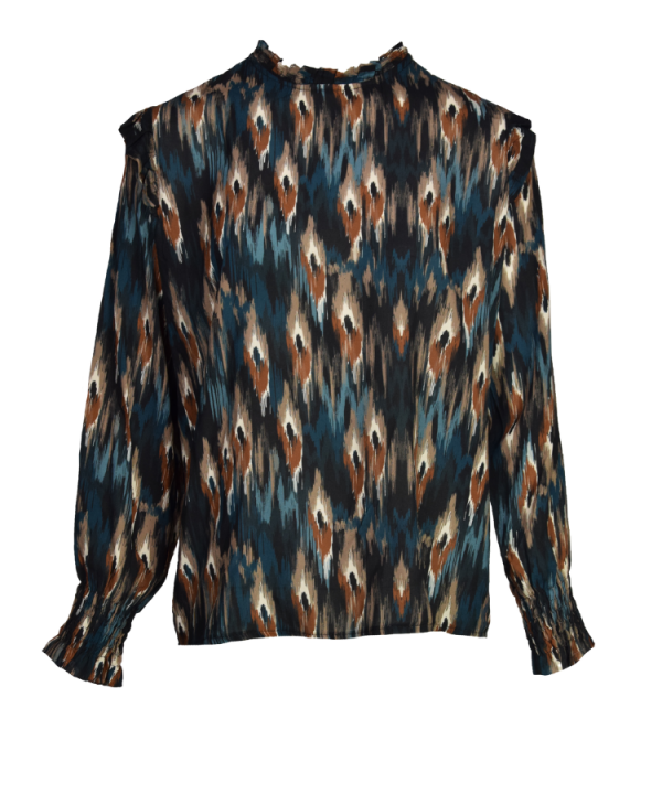 Blouse Funky peacock