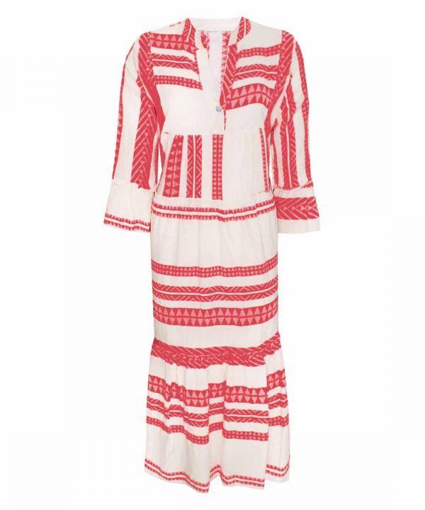 Aztec maxi dress