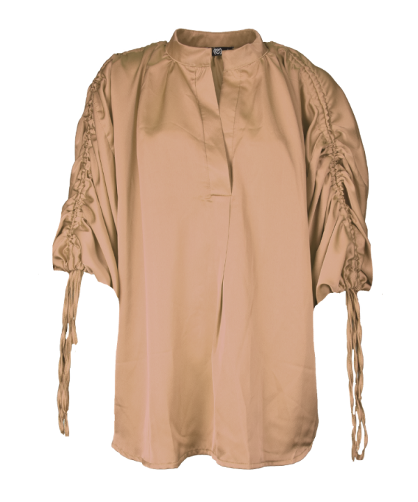 Blouse Amber taupe