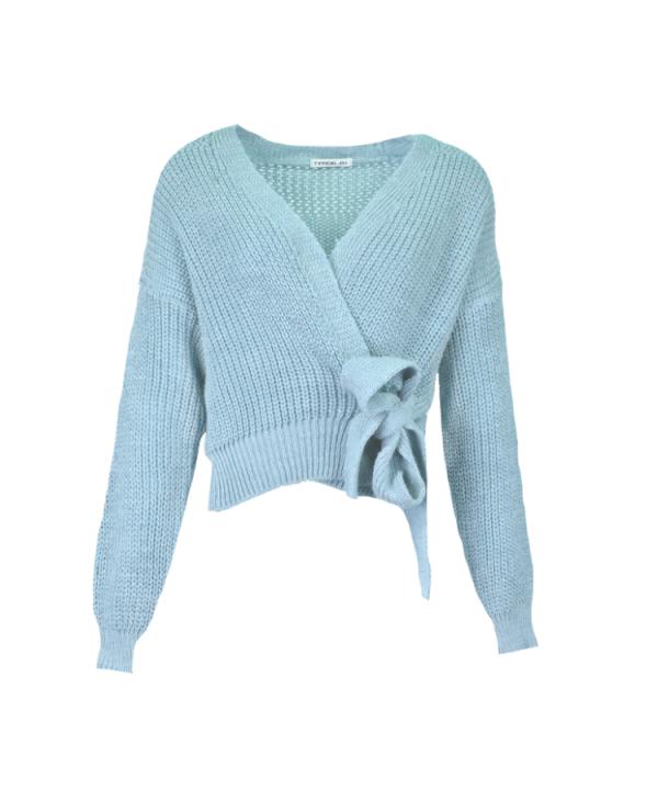 Vest Pia blauw