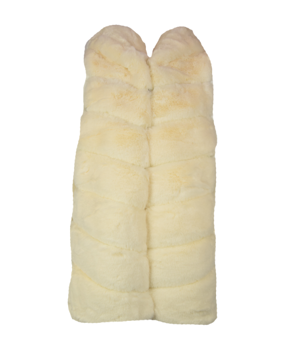 Faux fur Gilet off white