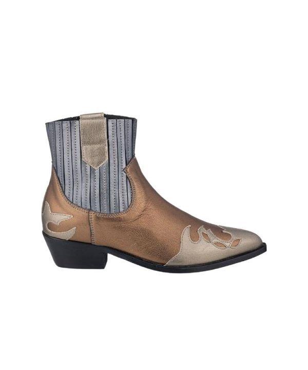 Boots austin metallic