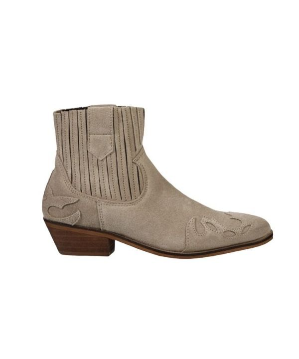 Boots austin flame suede