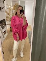 Blouse Amber roze