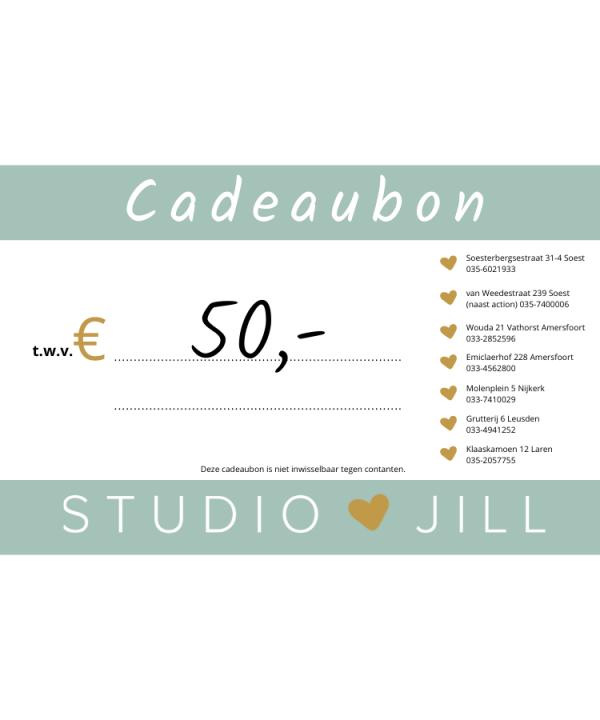 Studio Jill Giftcard