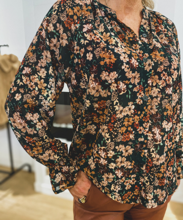 Blouse Roos flower
