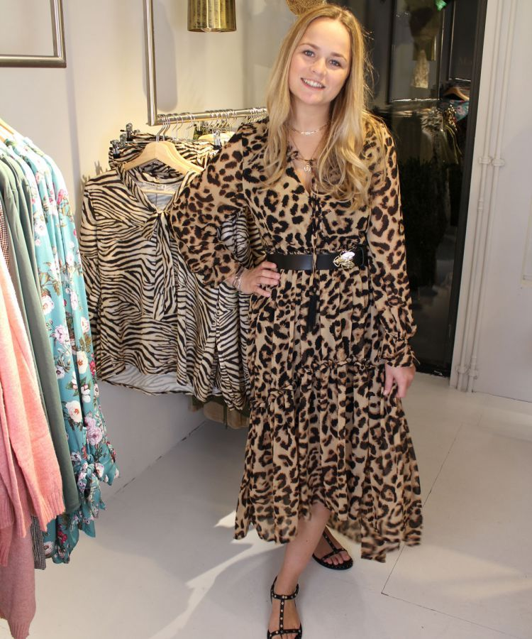 jurk alicia leopard