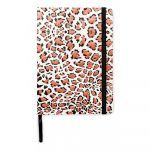 notebook with panterprint