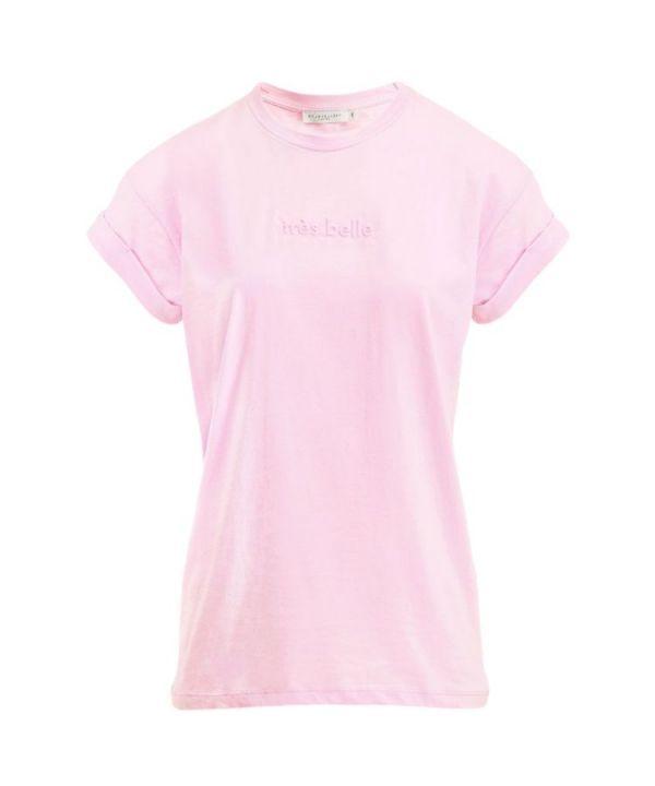Shirt Tres belle roze