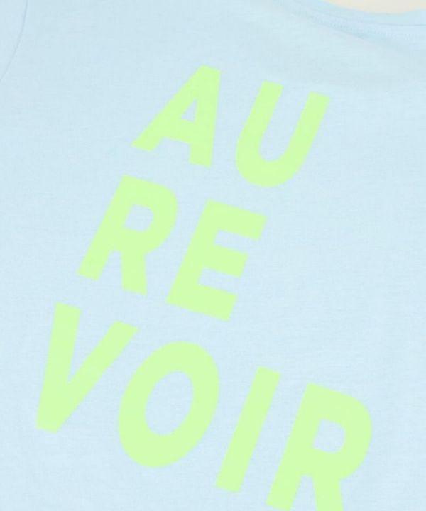 Shirt Au Revoir blauw