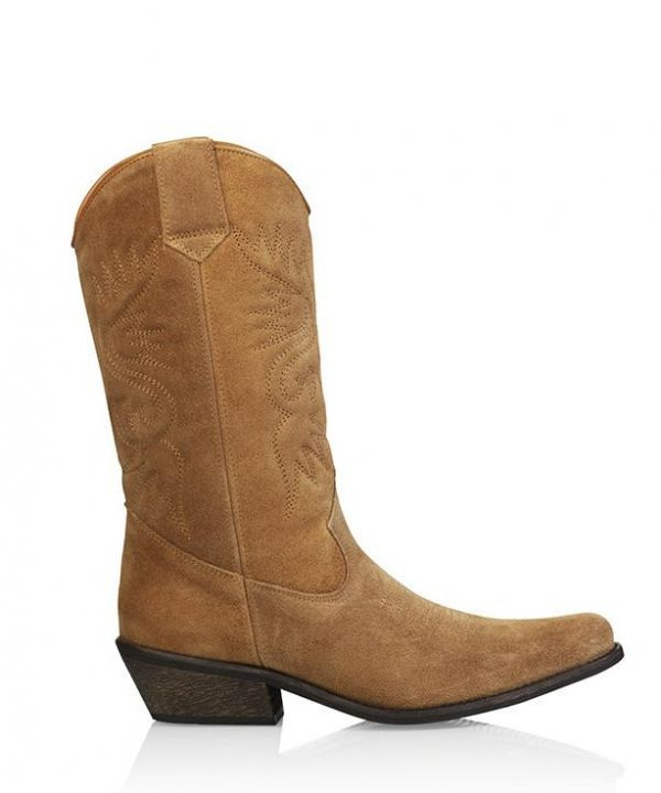 Boots high texas suede