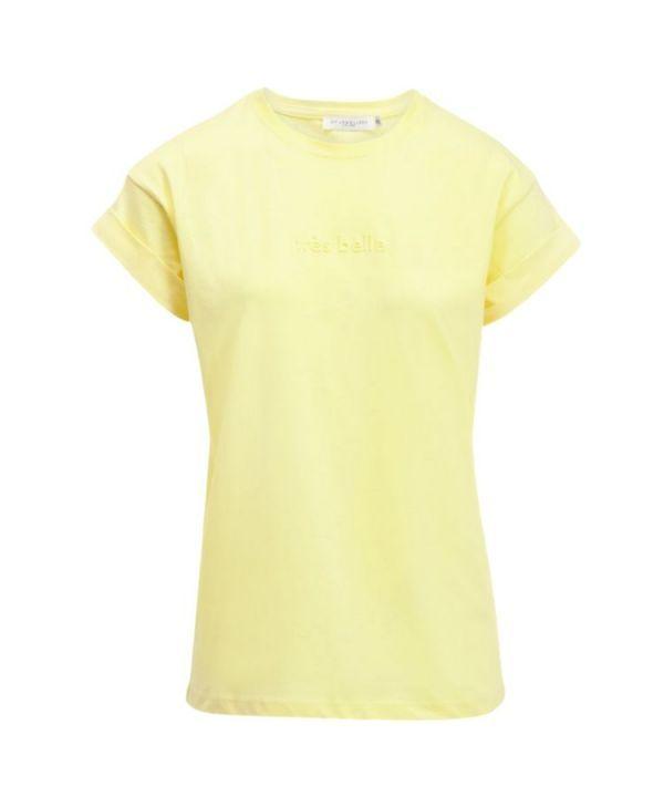 Shirt Tres belle geel