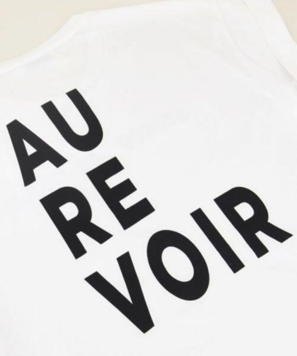 Shirt Au Revoir wit