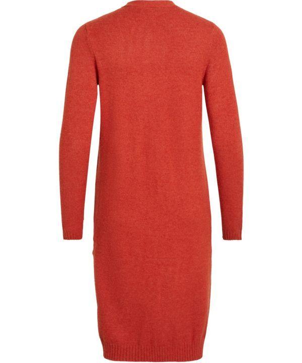 Vest Virl l/s long knit cardin