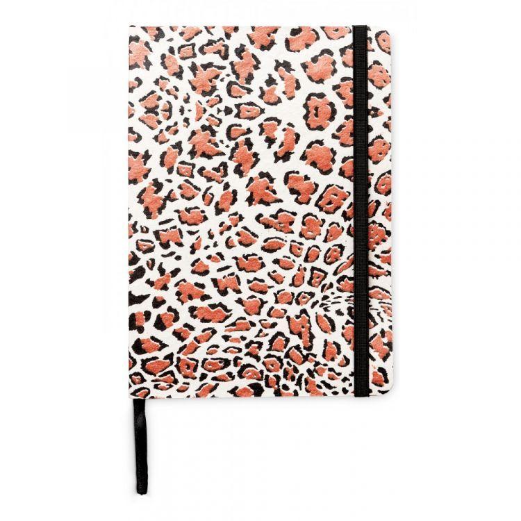 notebook with panterprint