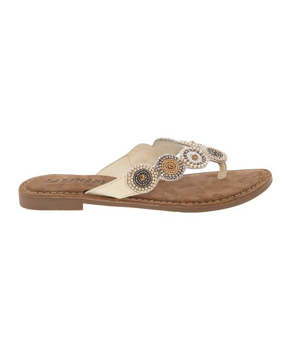 Sandals rounds/beads
