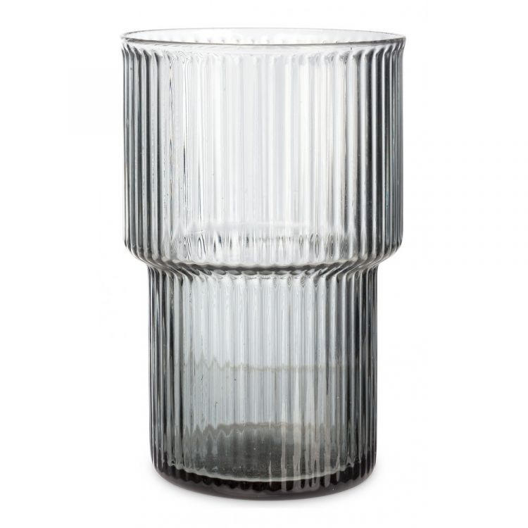 Ribbed glass large