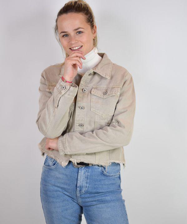 Spijkerjack Isabel