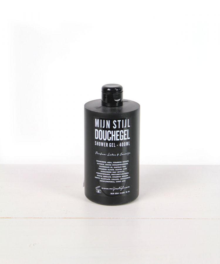 douchegel zwarte fles parfum