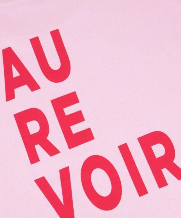 Shirt Au Revoir roze