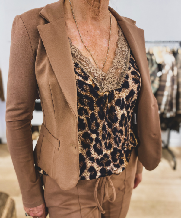 Singlet Marion leopard