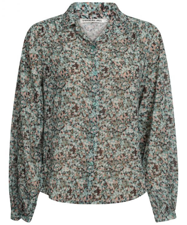 Blouse Paola flower