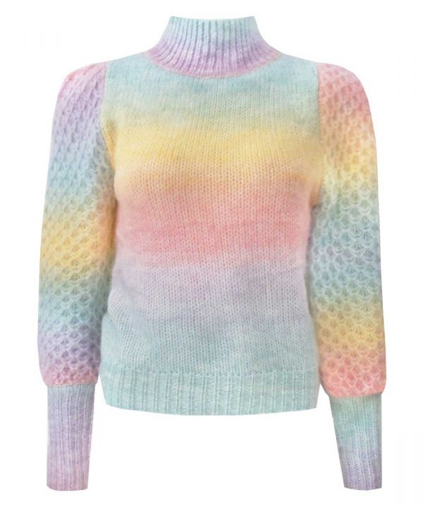 Trui Maartje rainbow