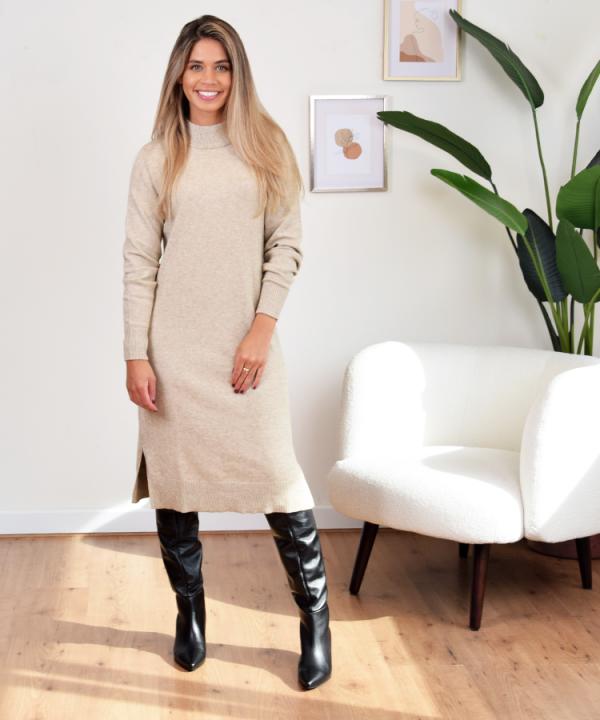 viril knit dress