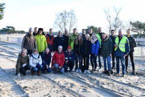 De vrijwilligersloop op 30 december