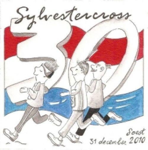 Michel Butter en Miranda Boonstra de grote overwinners bij de 30e Sylvestercross