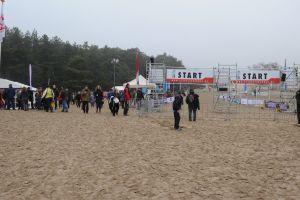 Het jaar uit lopen in het zand van Soest (Cross)