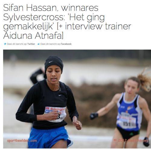 Losse Veter: Interview met winnares Sifan Hassan