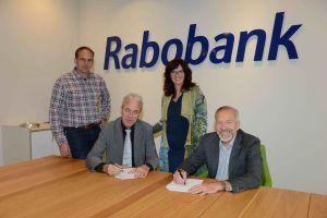 Contract met Rabobank getekend